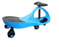 Детская самоходная машинка PlasmaCar (Плазмакар) оригинал, цвет голубой, полиуретановые колеса