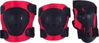 Комплект защиты RIDEX Rocket, красный/черный (M)