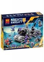 Конструктор Lego Лего (LELE)  Nexo Knight 10597 Штаб Джестро 878дет.