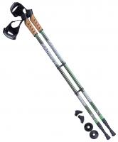 Палки для скандинавской ходьбы Rainbow, 77-135 см, 2-секционные