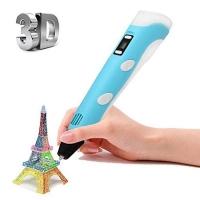 3D (3Д) ручка второго поколения с LCD дисплеем