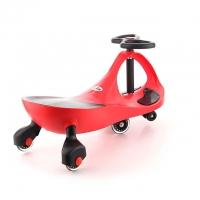 детская самоходная машинка PlasmaCar (Плазмакар) оригинал, цвет красный, полиуритановые колеса