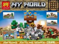 АКЦИЯ! Конструктор Лего (LELE) майнкрафт 33075 Крафт 2.0 723 дет