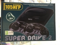 Игровая приставка к ТВ Sega (Сега) Super Drive 2 Classic (105 игр)