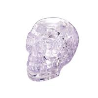 3D пазл кристаллический Череп, 49 деталей, световые эффекты