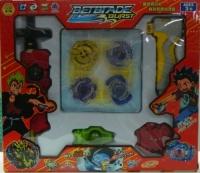 Набор волчков (4 в 1) Beyblade Бейблэйд с пуск устройством и ареной