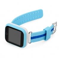 Детские часы GPS трекер Smart Baby Watch Q100 GW200S Голубые