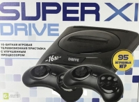 Игровая приставка к ТВ Sega Super Drive 11 (95-in-1) Black