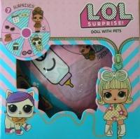 Кукла ЛОЛ LOL 2 в 1 (питомцы + кукла)