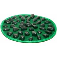 Массажный коврик с камнями круглый