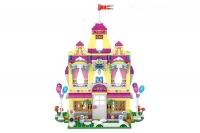 АКЦИЯ! Конструктор Лего LEGO LELE Сверкающий замок Анны 37007 390 дет.