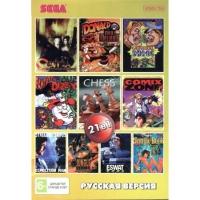 Картридж Sega (Сега) 21 в 1