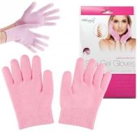 АКЦИЯ! Силиконовые Гелевые SPA перчатки розовые