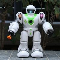Робот ходит и стреляет ( 20 см )