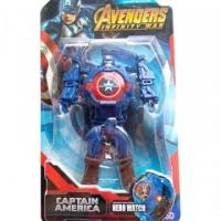 Часы наручные трансформер Капитан Америка
