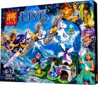 АКЦИЯ! Конструктор Лего Lele 79224 Elves Летающие сани Эйры, 325 дет