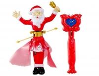 Волшебный летающий Санта Клаус Magic Santa с подсветкой
