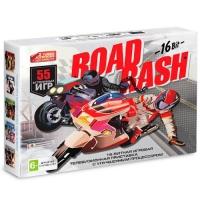 АКЦИЯ! Игровая приставка к ТВ Sega (Сега) Super Drive Road Rash (55 игр)