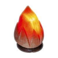 АКЦИЯ! Солевая лампа Пламя 1,5-2 кг