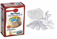 АКЦИЯ! Набор для украшения тортов 100 Piece Cake Decoration Kit