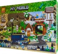 АКЦИЯ! Конструктор Лего Lego minecraft LELE 33173 Железная дорога