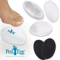 АКЦИЯ! Набор для педикюра без ручки Ped Egg (Пэд Эгг)
