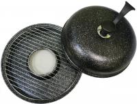 Сковорода гриль-газ D-509 мраморное покрытие, съемная ручка
