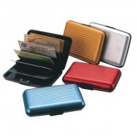 Алюминиевый рифленый кошелек Aluma Wallet (Алюма Валет)