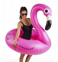 Надувной круг Фламинго 150*105 см (Розовый)