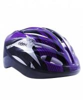 Шлем защитный RIDEX Cyclone, фиолетовый/черный