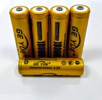 Аккумулятор Ge Yue 18650 4.2 V 18000 mAh