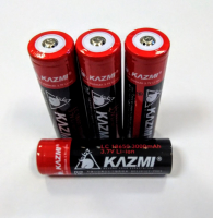 Аккумулятор KAZMI 18650 3.7 V 3000 mAh