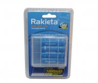 Аккумулятор Rakieta NI-MH AAA 1000 mAh набор 4 шт