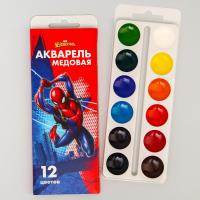 Акварельные краски Человек-паук 12 цветов
