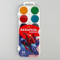 Акварельные краски Человек-паук 24 цвета