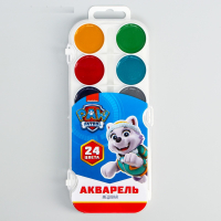 Акварельные краски Щенячий патруль 24 цвета