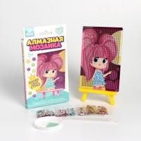 Алмазная мозаика для детей Милая девочка