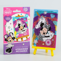 Алмазная мозаика для детей Минни и единорог Минни Маус