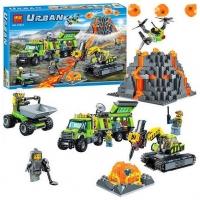 Конструктор Лего Lego BELA 10641 База исследователей вулканов, 860 дет
