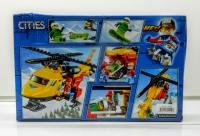 Конструктор Лего Lego Bela 10868 Вертолет скорой помощи, 208 дет