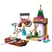 Конструктор Лего Bela 10889 Princess Приключения Эльзы на рынке, 128 дет