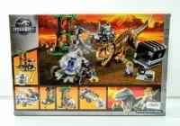 Конструктор Лего Lego Парк Юрского Периода BELA 10926 Побег в гиросфере от карнотавра, 595 дет