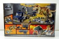 Конструктор ЛЕГО LEGO Парк Юрского Периода  BELA 10927 LELE 39116 Транспорт для перевозки Ти-Рекса, 638 дет.