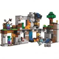 Конструктор Lego Лего BELA 10990 Minecraft Приключения в шахтах, 666 дет
