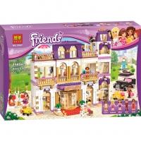 Конструктор Лего Lego Bela Friends 10547 Гранд-отель, 1585 деталей