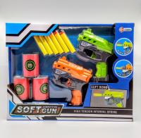 Бластер пистолеты с мишенью набор