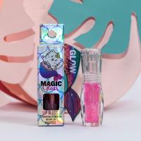 Блеск для губ Mermaid Gloss с эффектом увеличения объёма губ, оттенок фуксия