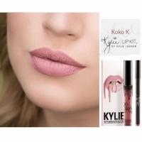 Жидкая губная матовая помада KYLIE Birthday Edition цвет Koko K