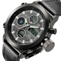 Часы наручные AMST черный ремешок