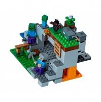 Конструктор Лего Lego Bela 10810 Minecraft Пещера зомби, 250 дет